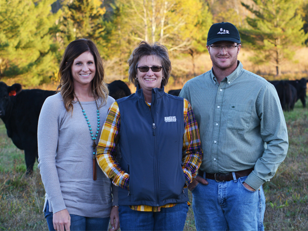 Behind the Beef- Radcliffe's in Pasture