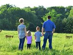 Johnson Family-in pasture-4:3